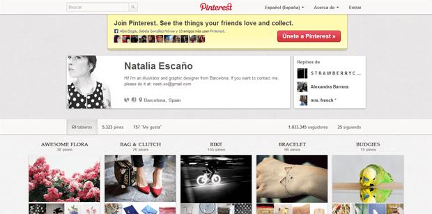 Natalia Escaño (nasti) en Pinterest