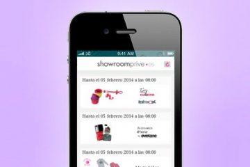 app de showroomprive