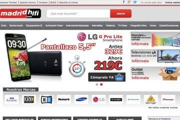 Tiendas Madrid Hifi