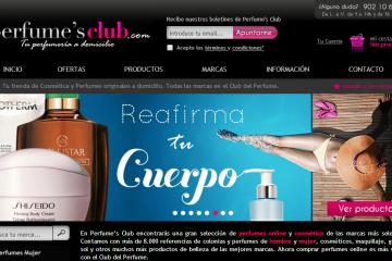 perfumes club perfumesclub.es