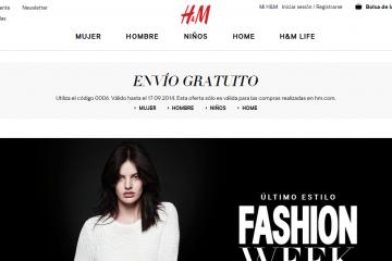 H&M online HyM