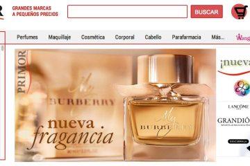 perfumerías primor online