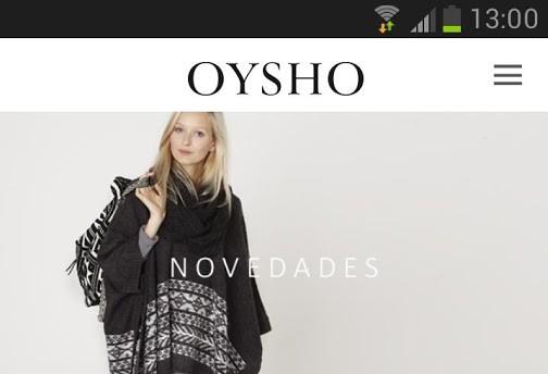 oysho online