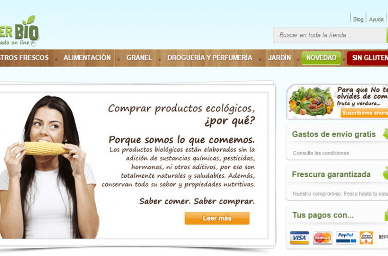 enterbio tienda de productos ecológicos