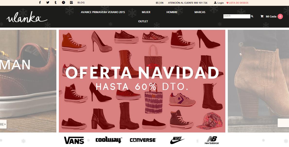 ulanka tienda online zapatos