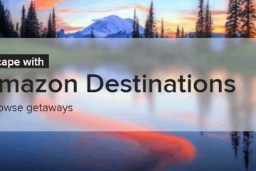amazon destinations