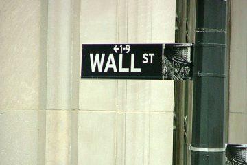 wall street bolsa acciones