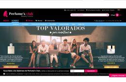 Tienda online de Perfumes Club.