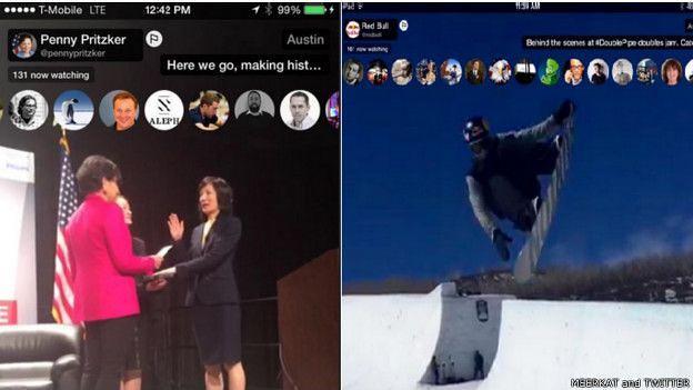 Ejemplos del streaming de Penny Pritkzer y la empresa Red Bull
