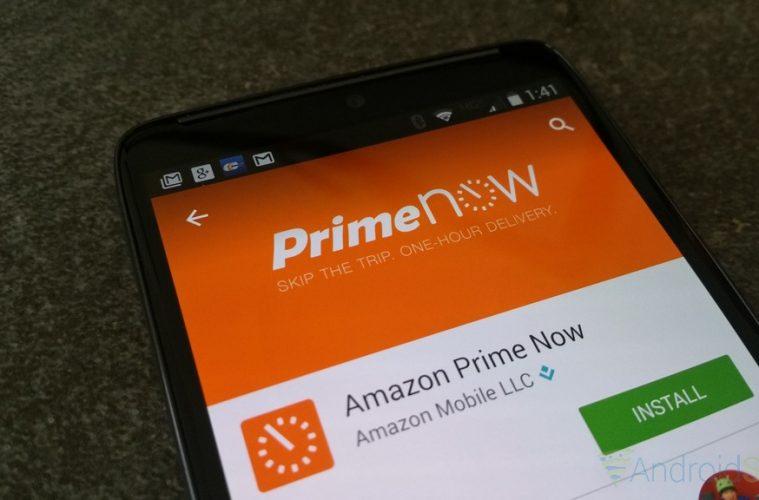 servicio de Amazon Prime Now continúa expandiéndose y ahora también vende licores