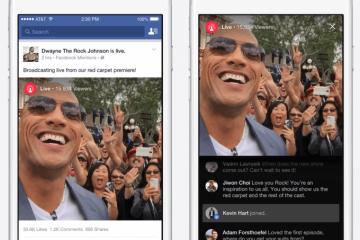Nace Facebook Live para el streaming móvil de las celebridades