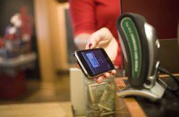 Pagos móviles en Starbucks