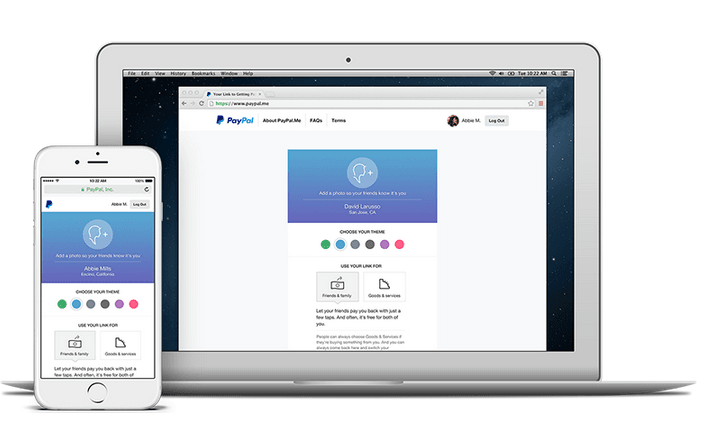 Paypal lanza PayPal.me para pagos pequeños o exprés