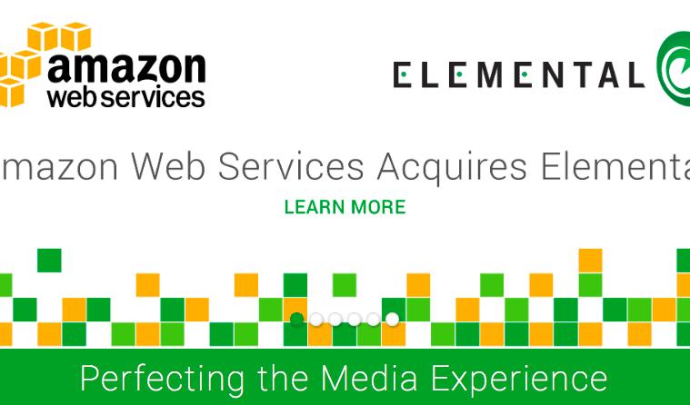 Amazon adquiere Elemental Technologies por 448MM€