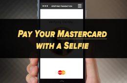 Mastercard pagar con un selfie reconocimiento facial