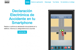 app móvil declaración iDEA
