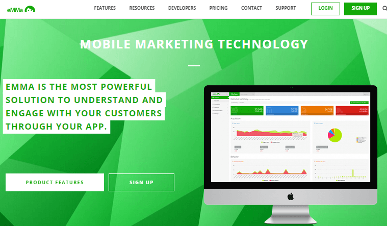 emma mobile app marketing