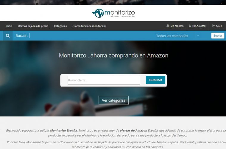 monitorizo ahorrar en amazon