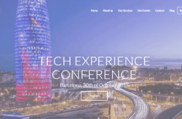 tech experience conference