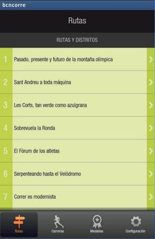 App Barcelona Corre