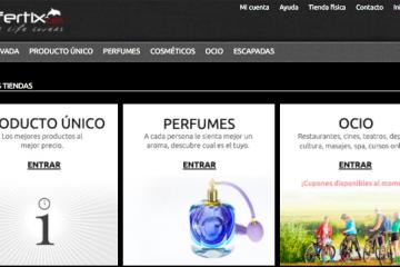 Ofertix.com, el eCommerce para los amantes del lifestyle cosmopolita