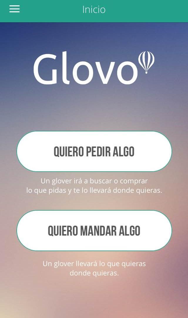 App Glovo