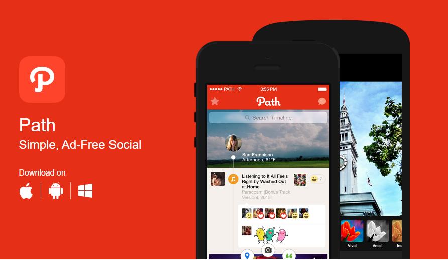 Nuevas redes sociales: Path