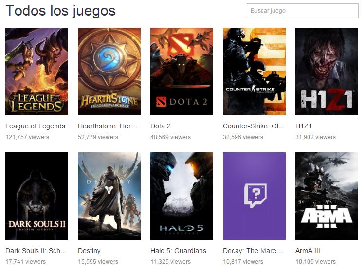 El canal Twitch League of Legends llega a tener hasta 10 veces más de audiencia que el de otras comunidades dentro de Twitch.
