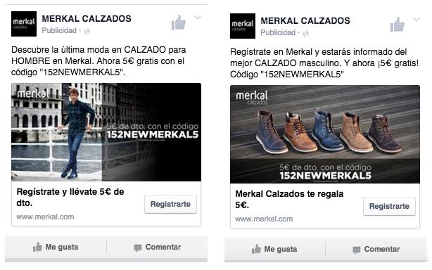 acebook - Lead Ads - Merkal