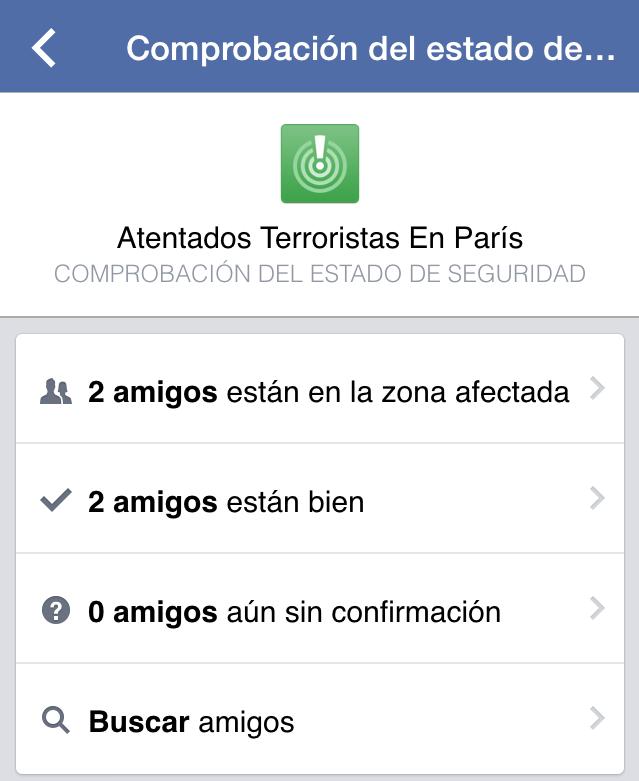Tragedia en París - Facebook