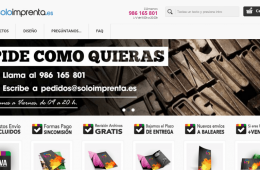 imprenta online soloimprenta