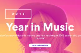 Spotify lanza Year In Music para recordar lo escuchado en 2015