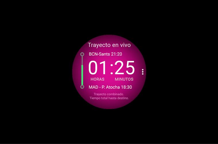 Renfe online y Samsung preparan una app para mostrar tus billetes en tu smartwatch