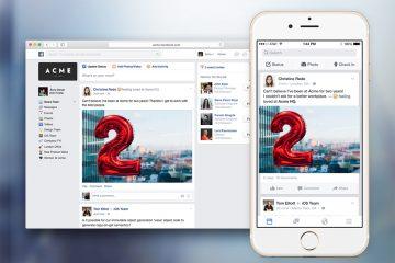 La red social corporativa Facebook At Work anuncia su llegada en 2016
