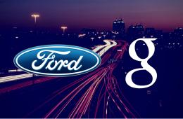 Google y Ford se alían para desarrollar coches autónomos
