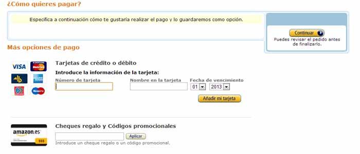 pago clic amazon