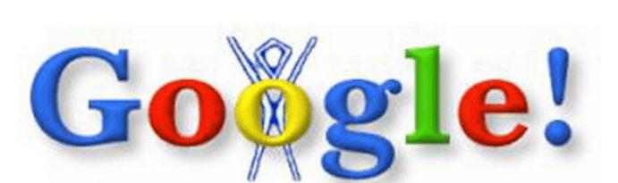 primer doodle de la historia de google