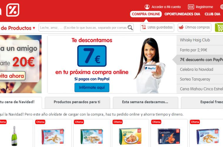 Supermercados dia online opiniones y valoraci n for Central de compras web opiniones