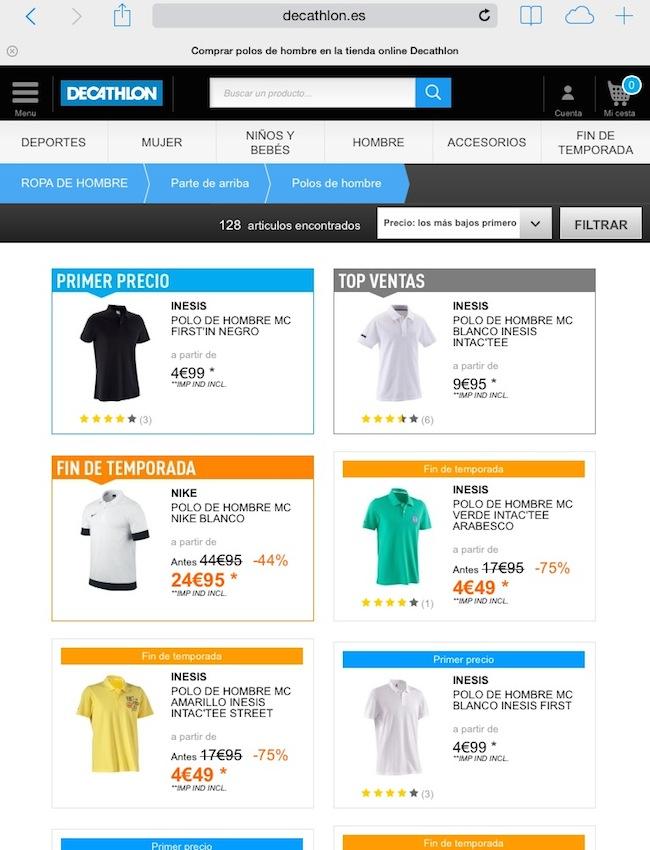 4d15ad452 Comprar en Decathlon online  opiniones