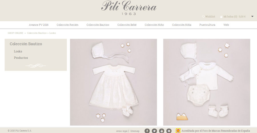 Pili Carrera home