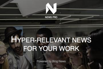 Microsoft lanza Microsoft News Pro, su propia app de contenidos recomendados