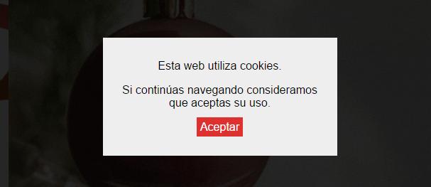 Indirectas navideñas Worten - Cookies