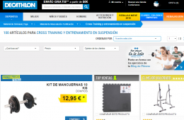 tienda decathlon online