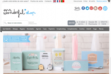 mr wonderful tienda online