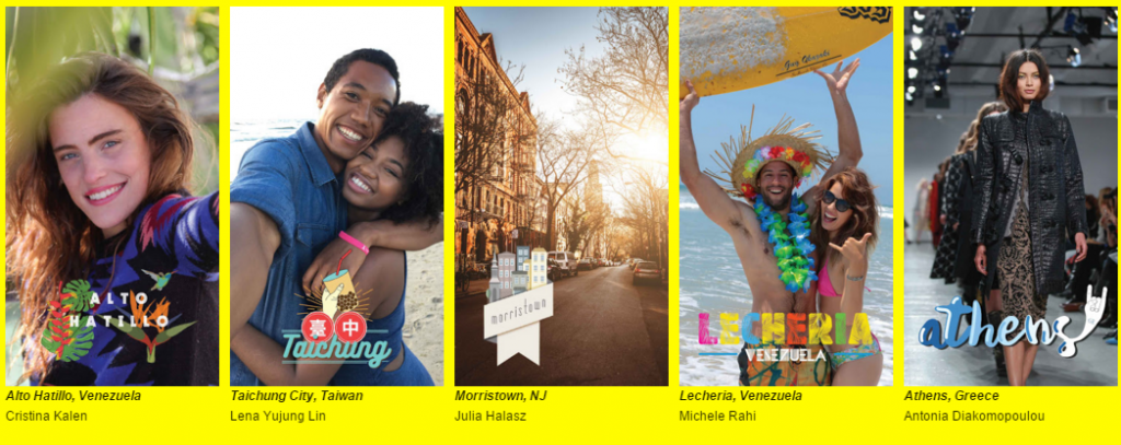 Snapchat - Geofilters