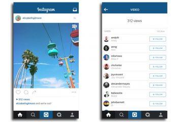 vídeos de instagram