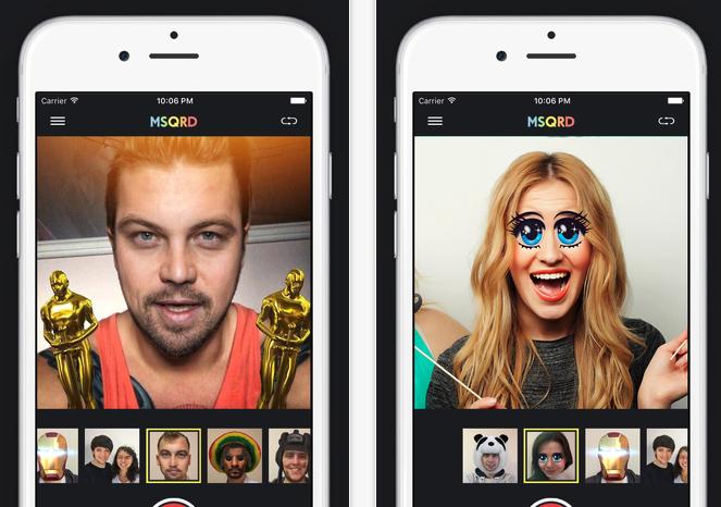 App Masquerade, una opción divertida de filtros para tus fotos y vídeos