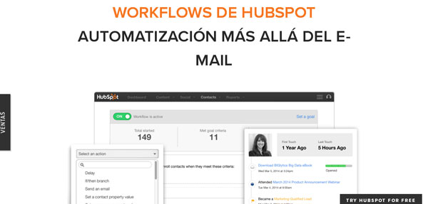 hubspot-herramienta de marketing automation