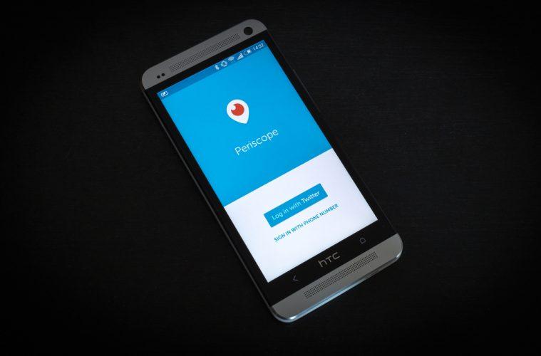 La app Periscope registró 200 millones de transmisiones en un año de vida