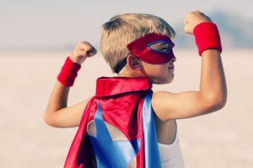 niño superheroe-inbound marketing